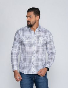 Camisa Xadrez Oksys 2 REF 07244