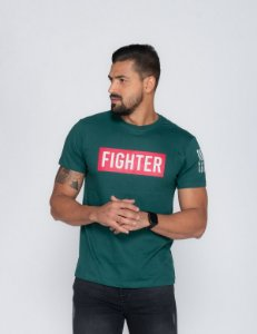 Camiseta Masculina Oksys green