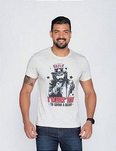 Camiseta Masculina Oksys I want you