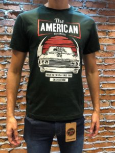 Camiseta estampada Oksys Motor V8