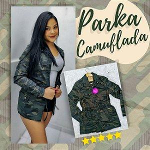 Parka Feminina Camuflada Lupepper RED.08333