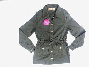 Parka Feminina Verde Militar RED.08330