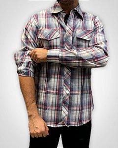 Camisa Masculina Xadrez Lenhador