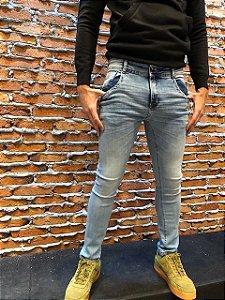 Calça Masculina Super Skinny com Elastano RED.08319