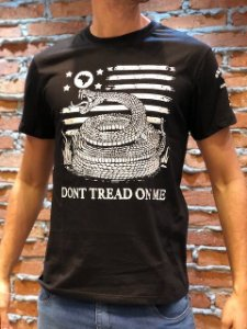 Camiseta Masculina Dont Tread On Me RED.06524