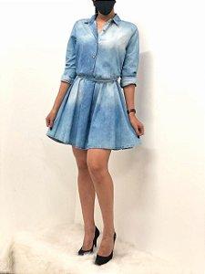 Vestido Jeans Manga Longa Lupepper
