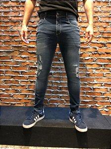 Calça Jeans Rasgado Masculina Oksys REF 08811