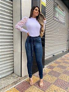 Skinny Jeans Com Cordão Menina Cheirosa REF 08885