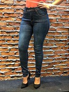 Calça Jeans Escura Skinny REF 08809