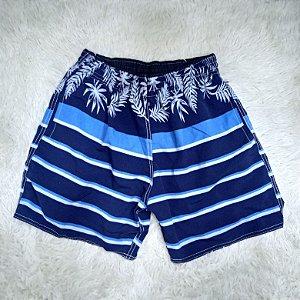 Bermuda Short Praia Azul Marinho (Adulto)