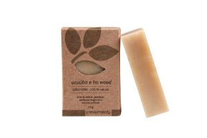 Sabonete Natural de Ucuúba e Ho Wood 115g - Ares de Mato