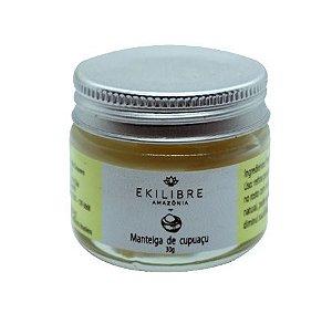 Manteiga de Cupuaçu Multifuncional 30g - Ekilibre Amazônia