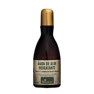 Água de Aloe Hidratante Natural e Vegana 210ml - Livealoe
