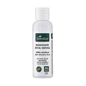 Enxaguante Bucal Natural e Vegano 60ml - Livealoe