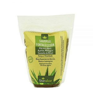 Refil Shampoo Vegano Fortalecedor 500ml - Livealoe