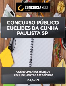 APOSTILA PREFEITURA DE EUCLIDES DA CUNHA PAULISTA SP 2021 AUXILIAR DE ENFERMAGEM