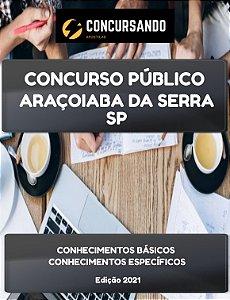 APOSTILA PREFEITURA DE ARAÇOIABA DA SERRA SP 2021 FISIOTERAPEUTA