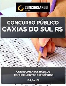 APOSTILA PREFEITURA DE CAXIAS DO SUL RS 2021 TÉCNICO EM ENFERMAGEM