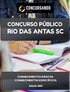 APOSTILA PREFEITURA DE RIO DAS ANTAS SC 2021 TÉCNICO DE SAÚDE BUCAL