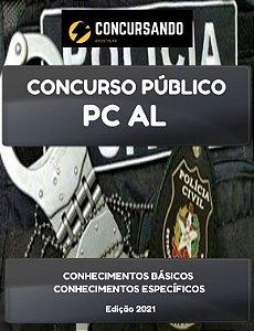 APOSTILA PC AL 2021 ESCRIVÃO DE POLÍCIA