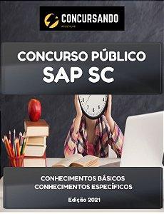 APOSTILA SAP SC 2021 TÉCNICO EM ATIVIDADES ADMINISTRATIVAS