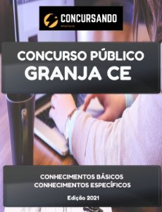 APOSTILA PREFEITURA DE GRANJA CE 2021 FISCAL DE OBRAS