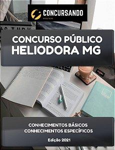 APOSTILA PREFEITURA DE HELIODORA MG 2021 PROFESSOR DE EDUCAÇÃO FÍSICA