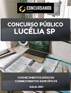 APOSTILA PREFEITURA DE LUCÉLIA SP 2021 ENGENHEIRO AGRÔNOMO