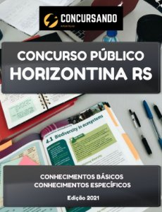APOSTILA PREFEITURA DE HORIZONTINA RS 2021 PROFESSOR LÍNGUA INGLESA