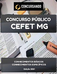 APOSTILA CEFET MG 2021 TÉCNICO EM ENFERMAGEM