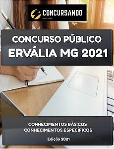 APOSTILA PREFEITURA DE ERVÁLIA MG 2021 AUXILIAR DE ENFERMAGEM ESF