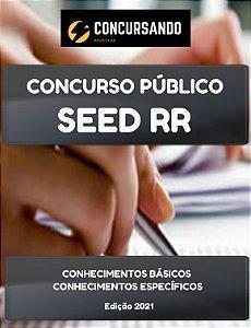 APOSTILA SEED RR 2021 PROFESSOR DE FÍSICA