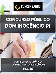 APOSTILA PREFEITURA DE DOM INOCÊNCIO PI 2021 PSICÓLOGO