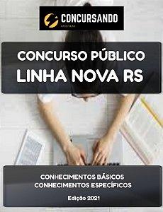 APOSTILA PREFEITURA DE LINHA NOVA RS 2021 PROFESSOR DE EDUCAÇÃO FÍSICA