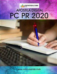 APOSTILA PC PR 2020 DELEGADO DE POLÍCIA