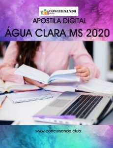 APOSTILA PREFEITURA DE ÁGUA CLARA MS 2020 ENFERMEIRO