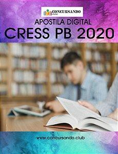 APOSTILA CRESS PB 2020 ASSISTENTE ADMINISTRATIVO