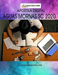 APOSTILA PREFEITURA DE ÁGUAS MORNAS SC 2020 PSICÓLOGO