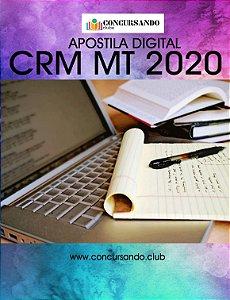 APOSTILA CRM MT 2020 AUXILIAR ADMINISTRATIVO