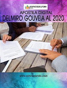 APOSTILA PREFEITURA DE DELMIRO GOUVEIA AL 2020 NUTRICIONISTA