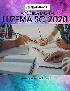 APOSTILA PREFEITURA DE LUZEMA SC 2020 PROFESSOR DE INGLÊS