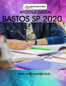 APOSTILA PREFEITURA DE BASTOS SP 2020 PSICÓLOGO
