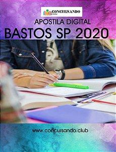 APOSTILA PREFEITURA DE BASTOS SP 2020 ASSISTENTE SOCIAL E CAPS