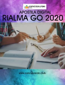 APOSTILA PREFEITURA DE RIALMA GO 2020 ANALISTA AMBIENTAL