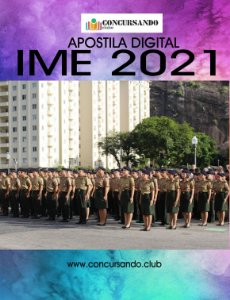 APOSTILA IME 2021 ENGENHARIA DE PRODUÇÃO