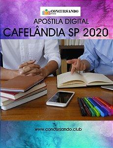 APOSTILA PREFEITURA DE CAFELÂNDIA SP 2020 ASSISTENTE SOCIAL