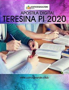 APOSTILA CÂMARA DE TERESINA PI 2020 ASSISTENTE LEGISLATIVO