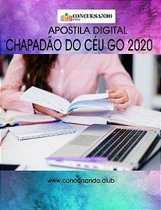 APOSTILA PREFEITURA DE CHAPADÃO DO CÉU GO 2020 PROFESSOR DE LETRAS - PORTUGUÊS/INGLÊS