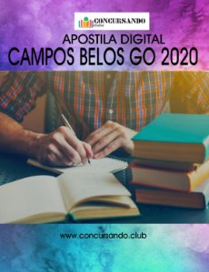 APOSTILA PREFEITURA DE CAMPOS BELOS GO 2020 FISIOTERAPEUTA