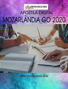 APOSTILA PREFEITURA DE MOZARLÂNDIA GO 2020 PROFESSOR DE LÍNGUA PORTUGUESA N-1